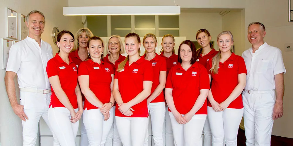 Praxis-Team des Implantat Centrums